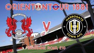 Leyton Orient Vs Harrogate Town Vlog (the Run In)