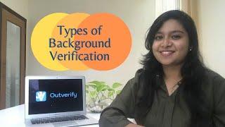 Types of Background Verification