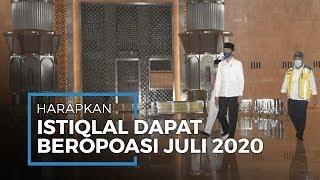 Jokowi Harapkan Masjid Istiqlal Beroperasi pada Juli Mendatang, Ini Tanggapan Pengelola
