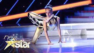 Andreea Tucaliuc, moment senzațional de contorsionism pe scena Next Star