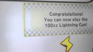 how to unlock the 100cc lightning cup