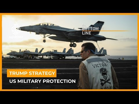 Is Trump turning the US military into a protection racket? | The Bottom Line