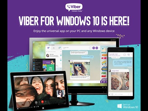 Viber Universal App for Windows 10 Now Available for Download