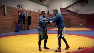 Школа боевого самбо с Игорем Исайкиным и 4MMA: бросок через спину со стойки.