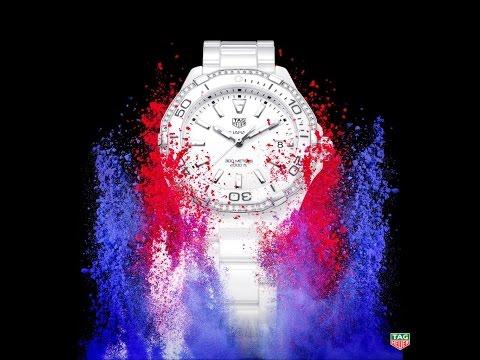 TAG HEUER AQUARACER LADY 300M CERÁMICA WAY1396.BH0717 - Reloj de Mujer