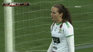 For this video , Women should not play football !!