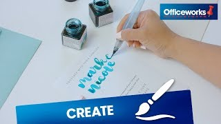 How to create wedding invitations with calligraphy