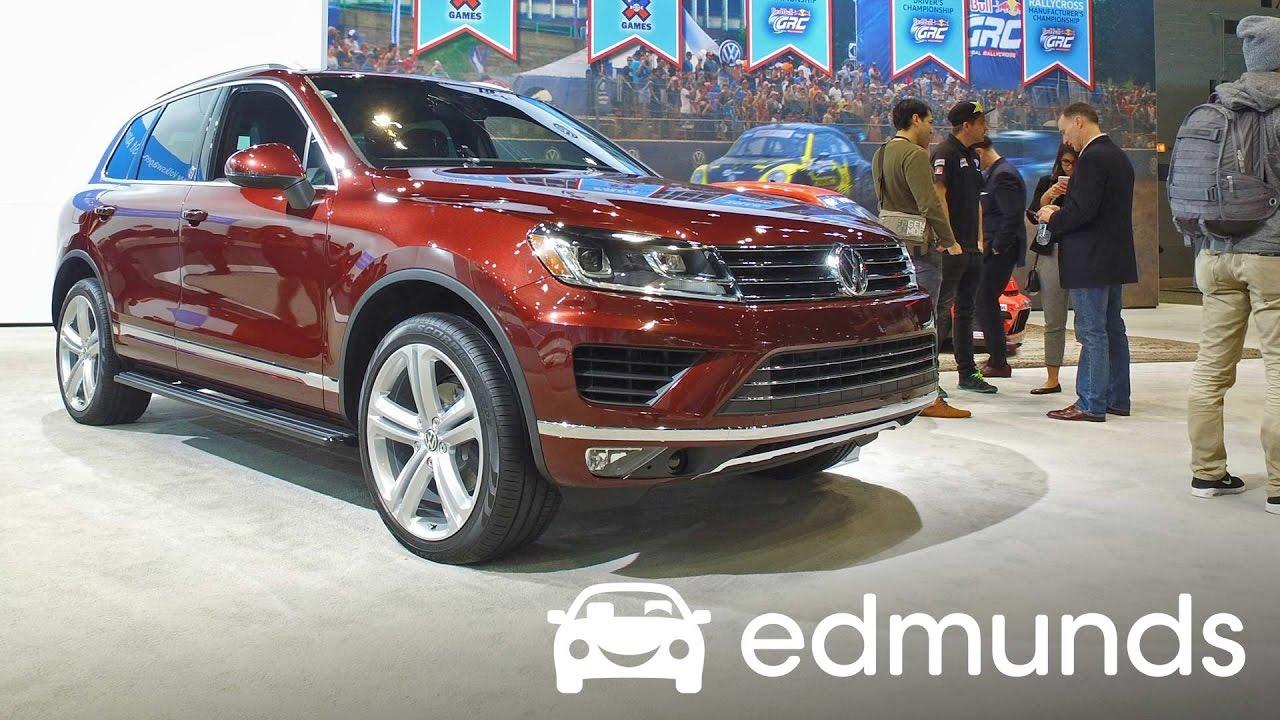 Used 2017 Volkswagen Touareg