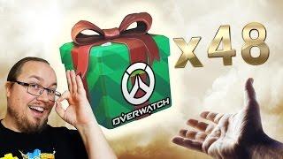 48 WINTER LOOT-BOXAR | Overwatch | Kholo.pk