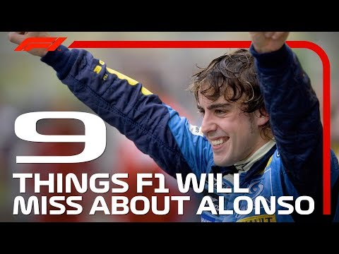 Nine Things F1 Will Miss About Fernando Alonso