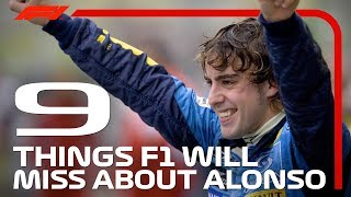 Nine Things F1 Will Miss About Fernando Alonso - dooclip.me