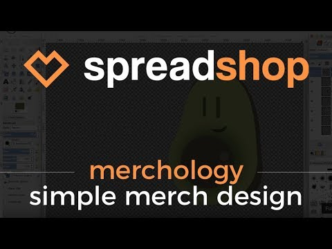 Thumbnail - How to Create Simple Designs for your Spreadshop
