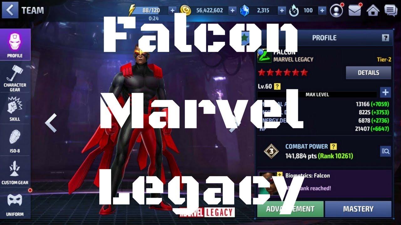 รีวิว Falcon ยู Marvel Legacy