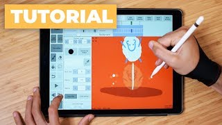 How to Draw a Frame by Frame Animation with iPad Pro ✍️