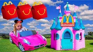 Las ratitas pretend play mcdonalds juegan y bailan videos funny kids compilation
