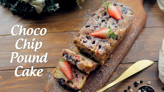 Strawberry Choco Chips Pound Cake