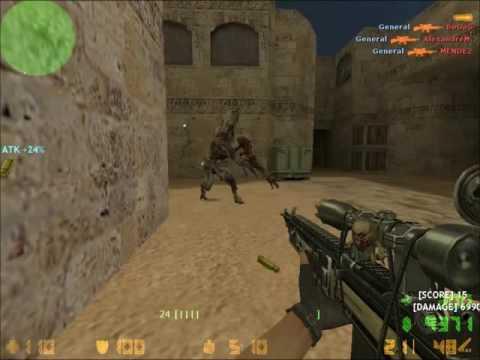 [cs 1.6] Zombie Darkness 4 - TOP 10 GUNS