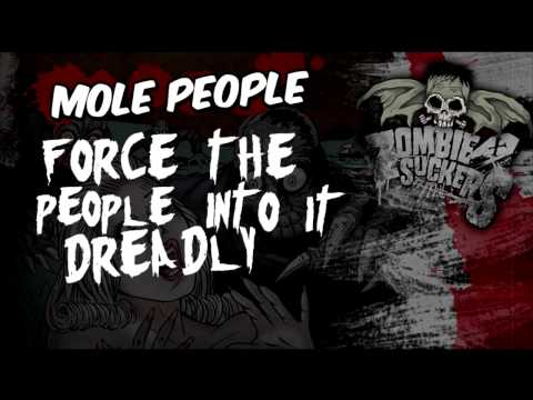 Zombiesuckers - Mole People (Lyrics video)