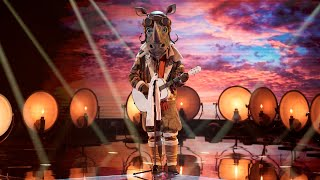 The Masked Singer Semi Finals - Rhino sings Tim McGraw's Humble and Kind
