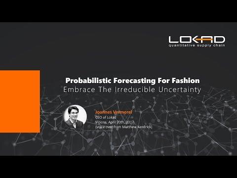 Probabilistic demand forecasting for Fashion