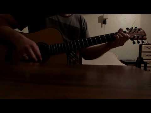 Серьга-страна чудес(кавер на гитаре)
