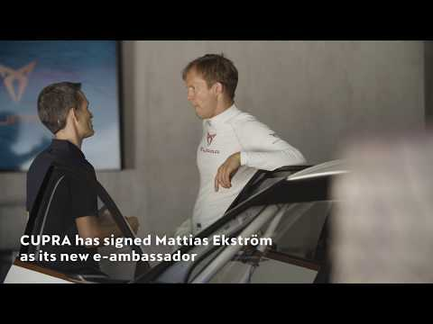 Mattias Ekström is named CUPRA e-Racer's official driver