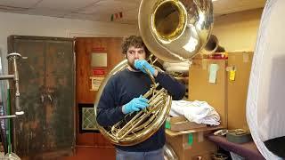 Vintage Reynolds Sousaphone Playtest