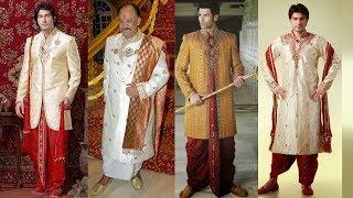Mens Wedding Attire - Indian Grooms Guide || Latest Dhoti Style Indian Sherwani