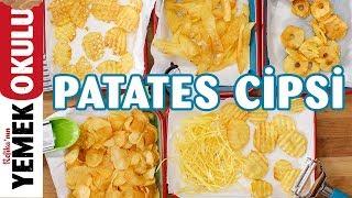 Evde Patates Cipsi | Dev Derbiye Yakışır Çıtır Çıtır Patates Cipsi Tarifi