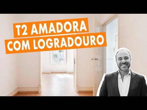 T2 renovado com logradouro - Amadora