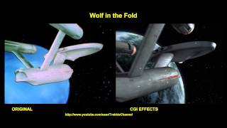 Star Trek - Wolf In The Fold - visual effects comparison