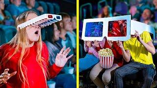 14 смешных пранков в кинотеатре / Как пронести сладости в кинотеатр