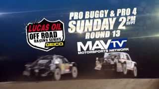 Lucas Oil Off Road Racing Series Round 13 Pro Buggy & Pro 4