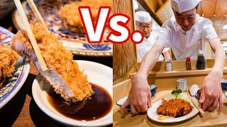 Best Japanese Tonkatsu - GOLDEN BOAR Gourmet Vs. Old-Style Food in Tokyo, Japan!