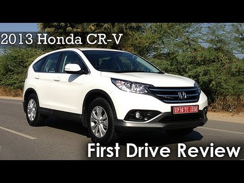 2013 Honda CR-V First Drive Review