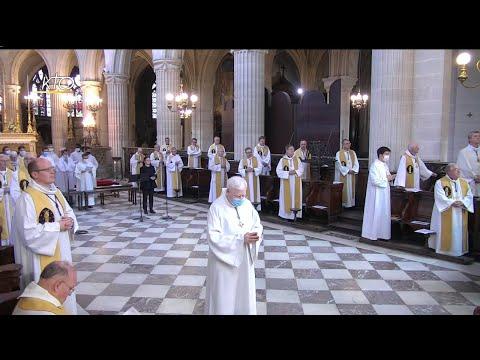 Messe à St-Germain-l'Auxerrois du 16 juin 2020