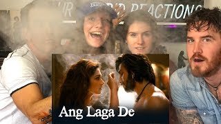 Ang Laga De | Video Song | Goliyon Ki Rasleela Ram Leela Reaction!!!