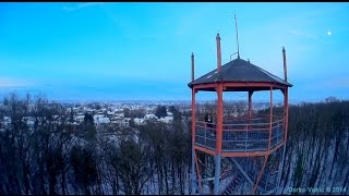preview picture of video 'Mini Quad FPV250 (Alpha) - Viewing Tower of Sisak, Croatia'