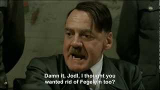 Hitler plans to get Göring to eat Fegelein