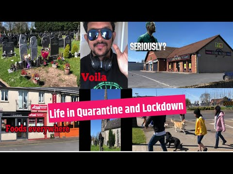 A day of lockdown in Castletroy, Limerick | Self Quarantine  | Living in Ireland | Amateur vlog!