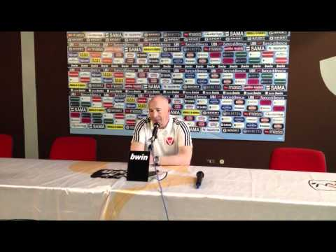 Maran in sala stampa dopo la vittoria sul Brescia