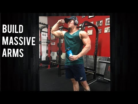 MASSIVE ARM WORKOUT 12 WEEKS OUT ARNOLD CLASSIC  | MEET BUBBA MY PUPPY