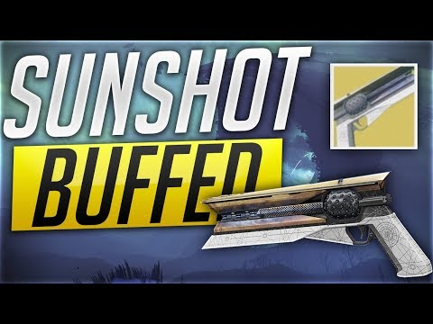 Drawing The Sunshot Exotic Hand Cannon | DESTINY 2 - игровое
