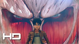 ATTACK ON TITAN PS4 First 20 Minutes  Walkthrough Gameplay Cutscene