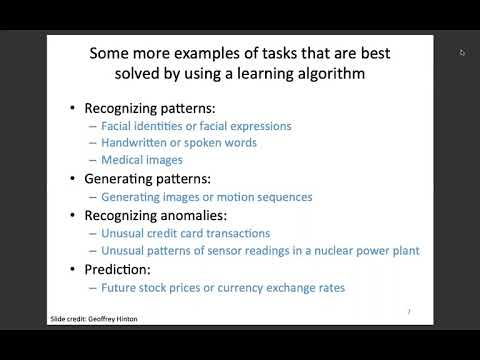 Machine Learning, Intro to Machine Duynia