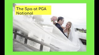 Palm Beach Wedding Photographer At The Spa At PGA National