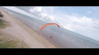 Melodi Pantai Irama — Paramotor FPV Drone
