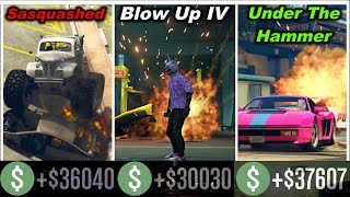 PLAYING ALL 3 MODES OF THE NEW SIMEON'S PREMIUM DELUXE REPO WORK! (GTA 5 ONLINE)