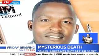 Riots at University of Nairobi after former student leader Samuel Ragira was killed