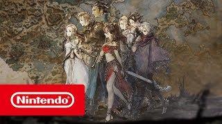 OCTOPATH TRAVELER - Bande-annonce de présentation (Nintendo Switch)